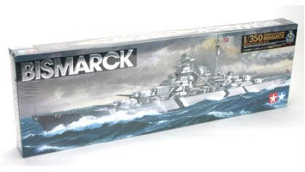 German Battleship Bismarck Tamiya -