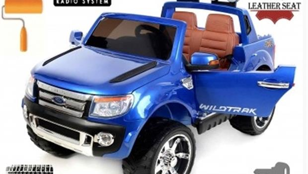 Jeep Ford Wildtrak - Luxury plavi